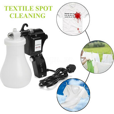 AU Electric Cleaning Spray Gun Textile Spot Cleaner Pressure Nozzle Clothing Set