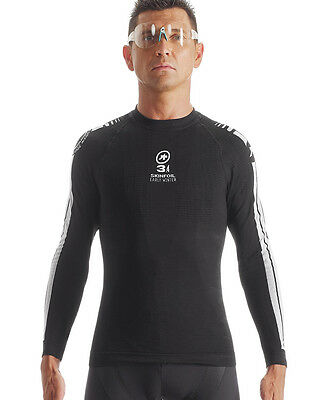 Assos Long Sleeve Skinfoil Early Winter S7 Baselayer Black Large/X-Large