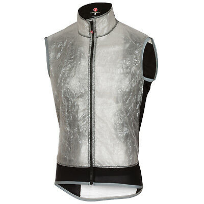 Castelli Rosso Corsa Vela Bike Vest Light Grey 2018
