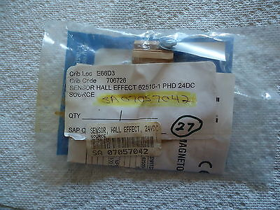 NEW Phd SENSOR HALLEFFECT #62516-1 Phd 24 DC. SOLID STATE SWITCH