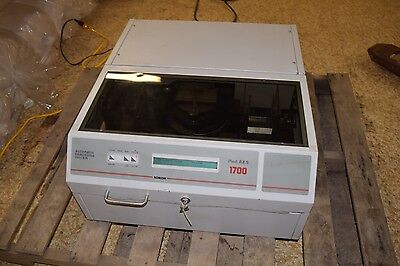 Norcom Automatic Embossing Machine AES 1700 Metal Card Embosser Free Freight