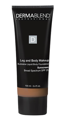 Dermablend Leg And Body Makeup Foundation SPF 25 - Tan Golden 65N - 3.4 Fl Oz