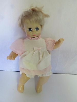 Vintage 1971 IDEAL TOY LB-12-197   Doll with Sleep Eyes