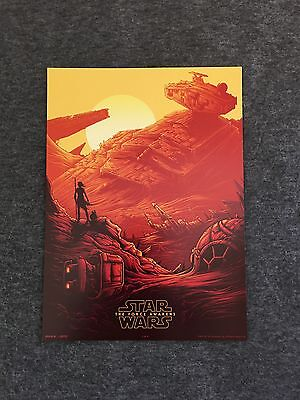 Star Wars: The Force Awakens Movie Poster IMAX AMC 1 Of 4