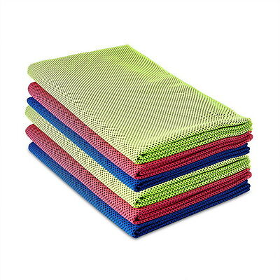 Instant Ice Cooling Towel for Jogging Sunstroke Cycling Gym Outdoor Sports