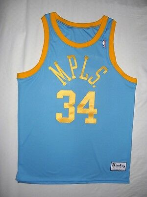 a8b12011862 Los Angeles Lakers Shaquille O'Neal Shaq Authentic MPLS HWC jersey 40 M NEW  USA