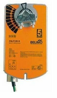 BELIMO FSLF120-S US 120V FIRE & SMOKE ACTUATOR 30in-lb WITH AUX. SWITCH