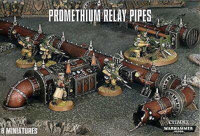Promethium Relay Pipes Warhammer 40,000 Games Workshop