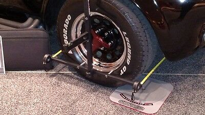 Wheel Alignment Kit in Case Digital Caster Camber Gauge & Toe - MADE in USA