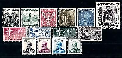 [55937] Luxembourg 1947 Complete Year Set  MNH