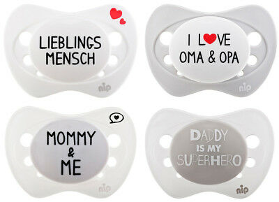 *limited Edition* NIP Beruhigungssauger MOMMY DADDY LIEBLINGSMESNCH OMA&OPA