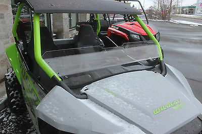 2802-AW70 Arctic Cat Wildcat Trail & Sport clear half windshield