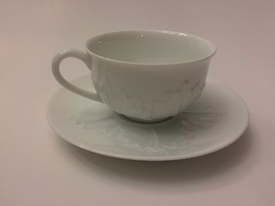 A. Raynaud Limoges Antilles Cup and Saucer Made in France