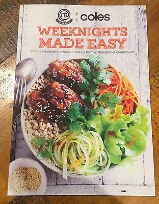 WEEKNIGHTS MADE EASY Coles Recipe Book