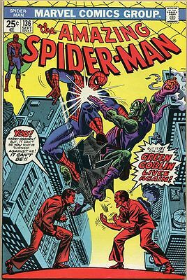 Amazing Spider-Man #136 - VF- - 1st Appearance Of Green Goblin II