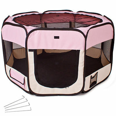 Foldable cage for small dogs or puppies of dog and cat, ideal house