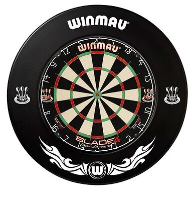 Winmau EXTREME Black BDO DARTBOARD SURROUND - One Piece