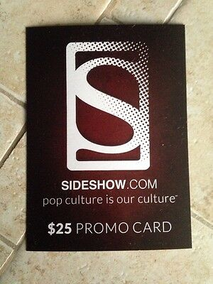Sideshow Collectibles $25 Gift Card