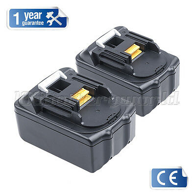 2 X New 18V 3.0Ah Lithium Ion Battery For Makita Bl1830 Lxt Uk Latest Pack