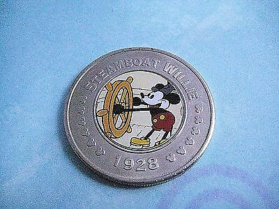 DISNEY DECADES Mickey Mouse STEAMBOAT WILLIE The Twenties COLLECTIBLE COIN #1