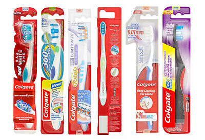 Colgate Pro Gum Health,Max White,360 Degrees Compact,Slim Soft Toothbrush