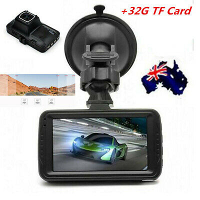 "Dash Camera Recorder Car DVR Video 170° FHD Vision 1080P 3"" LCD 16GB Crash"