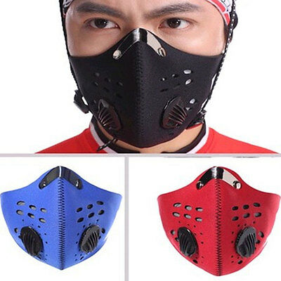 Neoprene Anti Dust New Motorcycle Bicycle Cycling Bike Ski Half Face Mask Filter