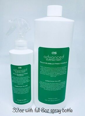 Surfactant Debubblizer, 32oz with full 8oz spray