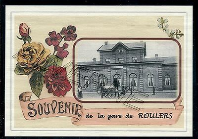 ROULERS    - gare souvenir creation moderne - serie limitee numerotee
