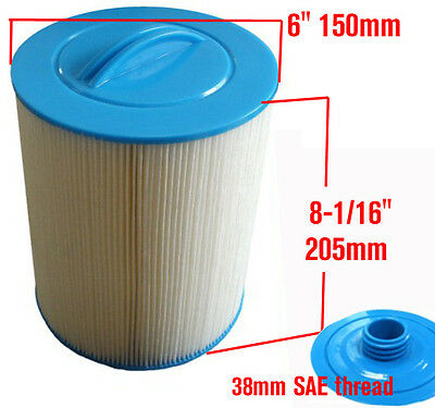 hot tub spa filter 8'x6' SAE Thread for Most Russia spa cartridge PWW50  6CH-940