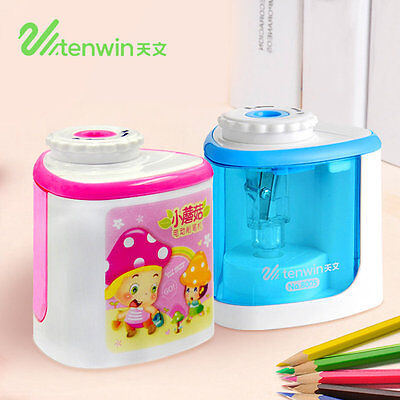 TENWIN 8005 Home Office School Desktop Electric Pencil Sharpener Stationery AZ