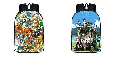 Neu Digimon Adventure Digital Monster Rucksack Backbag Backpack Bag 42x29x16CM