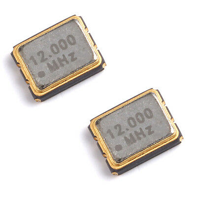 New 10PCS 3225 SMD passive crystal 12.000MHz 12MHz ±10ppm 12Pf