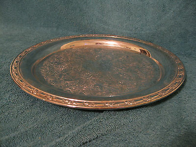 Oneida Silver Plated Tray (item# A218)