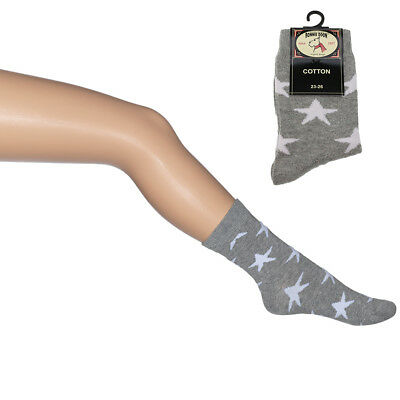BONNIE DOON Socken BN543121 A Star Is Born - grau (light grey heather) NEU/OVP