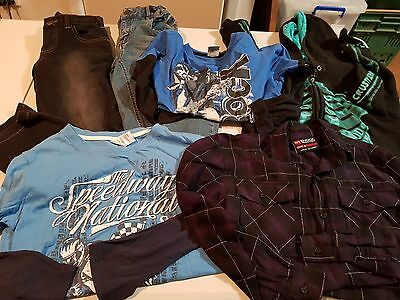 Boys Size 8 Winter Clothes, 6 items