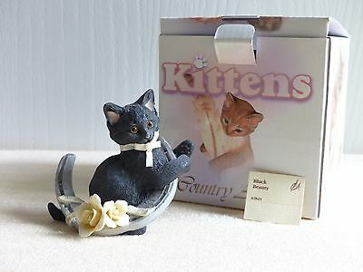 Country Artists Black Beauty 02823 Knick Knack Figurine