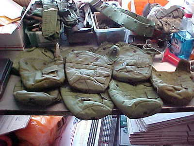 US Military MILITARY  1Qt Canteen Cover (1)   OD LC-2 Pouch Carrier  Alice Clips