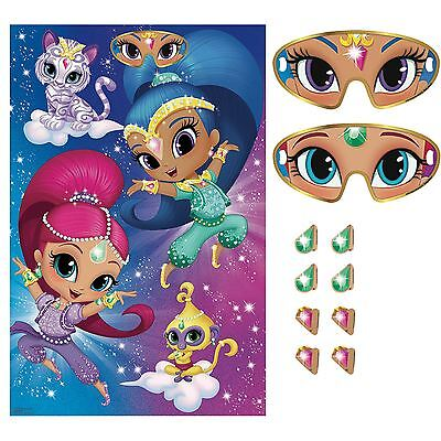 Shimmer & Shine Pin the Party Games Childrens Birthday Party