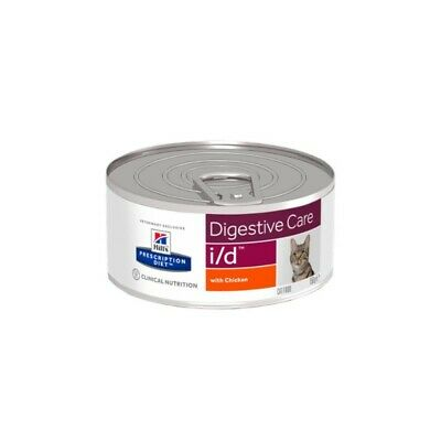 HILL S prescription diet i/d feline umido pezzettini pollo 24 lattine da 82 g.