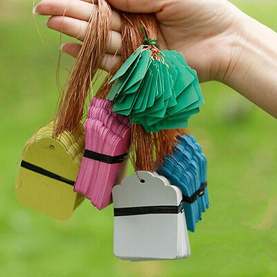 Waterproof Strip Line Hanging Tags 1 packet(100pcs) Signs Plant Gardening Labels