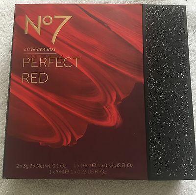 No7 Luxe In A Box Perfect Red Gift Set