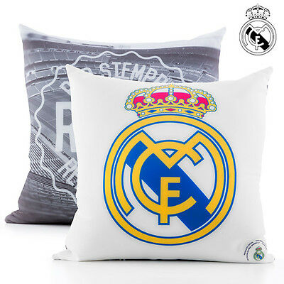 V2100125 Cuscino Antistress Del Real Madrid Cf