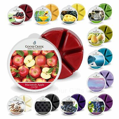 Goose Creek Scented Wax Melts Breakable Up to 80 Hrs Burn Time 90+ Fragrances L1