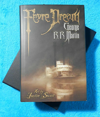 George R.R. Martin FEVRE DREAM 2008 limited Edition SLIPCASE 448 pieces only !!