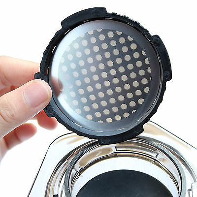 Metal Solid Stainless Steel Coffee Filter for AeroPress CoffeeMaker  Reusable