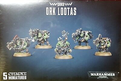 Games Workshop Warhammer 40K 50-22 Ork Lootas & Burnas NEU OVP