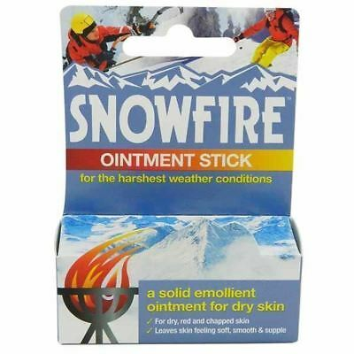 Snowfire Ointment Healing Sticks 18g Chapped Cracked Skin 1 2 3 6 12 Packs