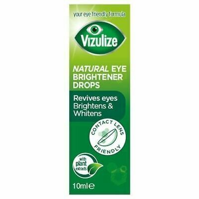 Vizulize Natural Eye Brightener 10ml 1 2 3 6 12 Packs