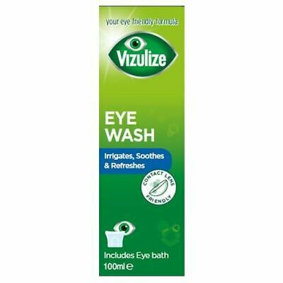 Vizulize Eye Wash 100ml 1 2 3 6 12 Packs